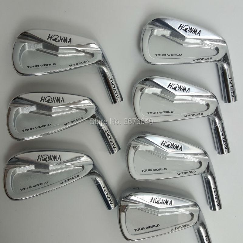 Golf fers Golf Clubs HONMA 727 v fer groupe 4-10 w (7 pcs) arbre De Golf en acier et De Golf tête Livraison gratuite