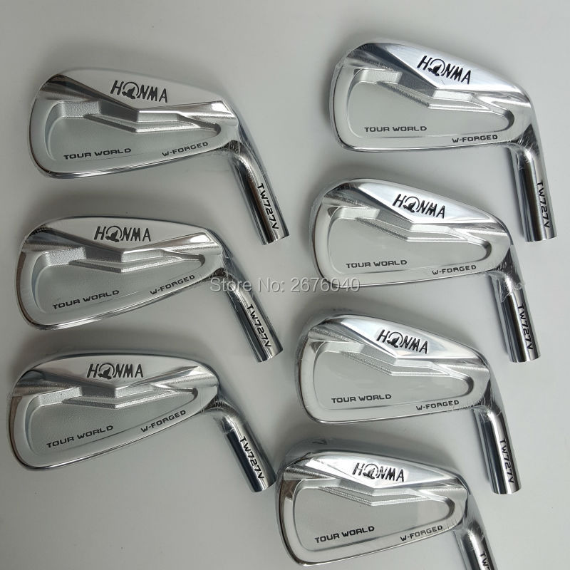 Golf irons Golf Clubs HONMA 727v iron group 4 10 w (7 PCS)Steel Golf shaft and Golf head Free shipping