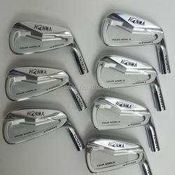 Golf hierros palos de Golf HONMA 727v grupo de hierro 4-10 w (7 uds) Eje de Golf de acero y cabeza de Golf envío gratis