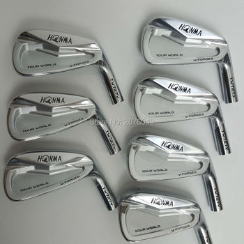 Golf irons  Golf Clubs HONMA  727v  iron group 4-10 w (7 PCS)Steel Golf shaft and Golf head Free shipping golf clubs honma bp 2001 golf putter 33 34 35 inches steel golf shaft and golf headcover free shipping