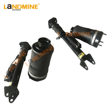 Free Shipping 4PCS Rear Suspension Shock With ADS Front Suspension Spring Bag Mercedes W164 ML X164 GL 1643203031 1643202031 airmatic shock absorber air suspension for mercedes benz ml class w164 gl x164 with ads pair 1643206013 1643202731 1643202031