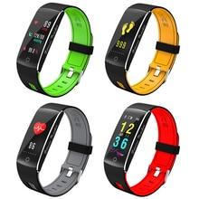 2018 Смарт часы Для мужчин смарт-браслет сердечного ритма калорий Водонепроницаемый Будильник спортивные часы Для женщин Smartwatch для Android IOS Телефон