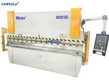 Cheap E21 system control press brake , hydraulic aluminum sheet bending machine