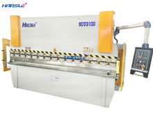 Cheap E21 system control press brake , hydraulic aluminum sheet bending machine