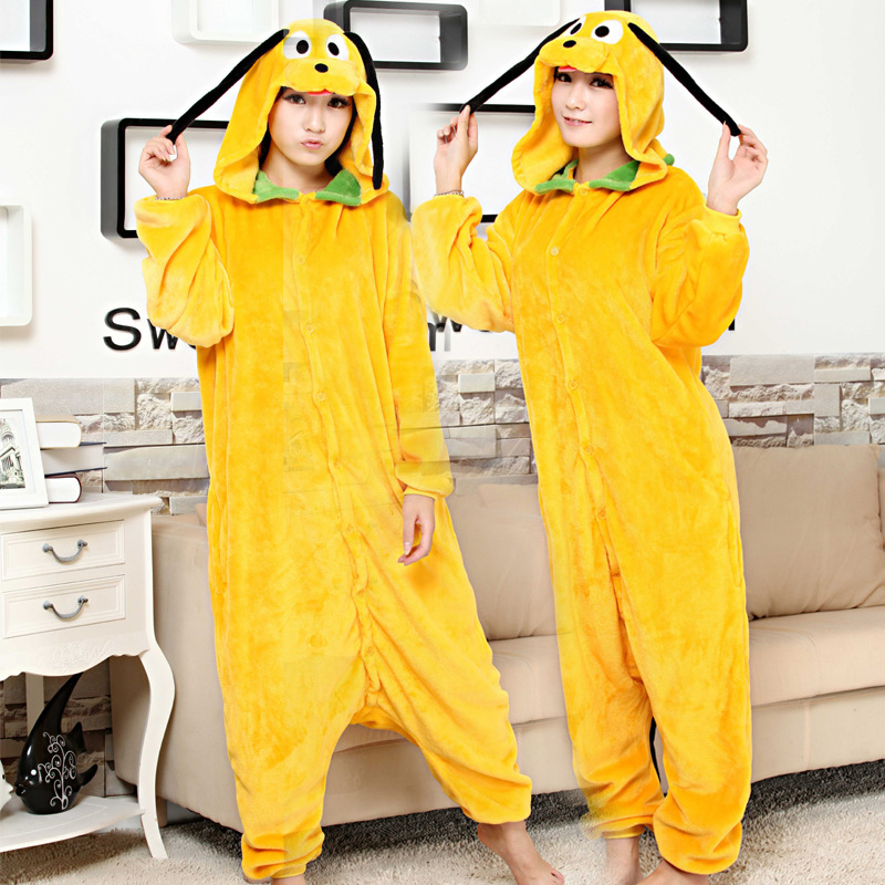 Free shipping New Adult Monsters dog Costume Onesie Pyjamas Cosplay dog animal sleepwear for Unisex