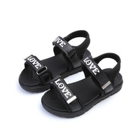 2017 Kid Summer Shoe For Boy And Girl Children Sandals Beach Shoe Love Letter Casual Sandals