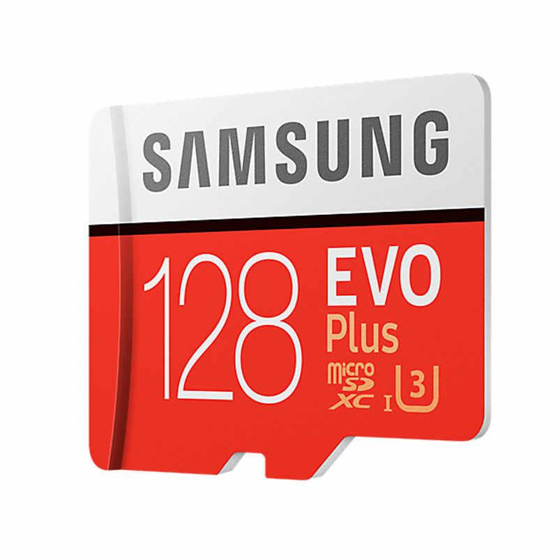 SAMSUNG Карты Памяти Micro SD 256 ГБ 128 ГБ 64 ГБ  32 ГБ 16 ГБ SDHC SDXC Класс EVO + EVO UHS Class 10 С10 TF Trans Flash Microsd микро сд  карта памяти для телефона
