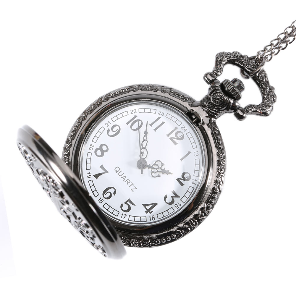 fob watches vintage jewelry pocket mechanical necklace itm watch skeleton chain