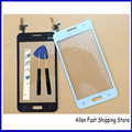 Original New 4.5 Inch Touch Screen For Samsung Galaxy Core 2 II SM-G355H G355H G355 Touch Panel + 3M Glue, Black/White