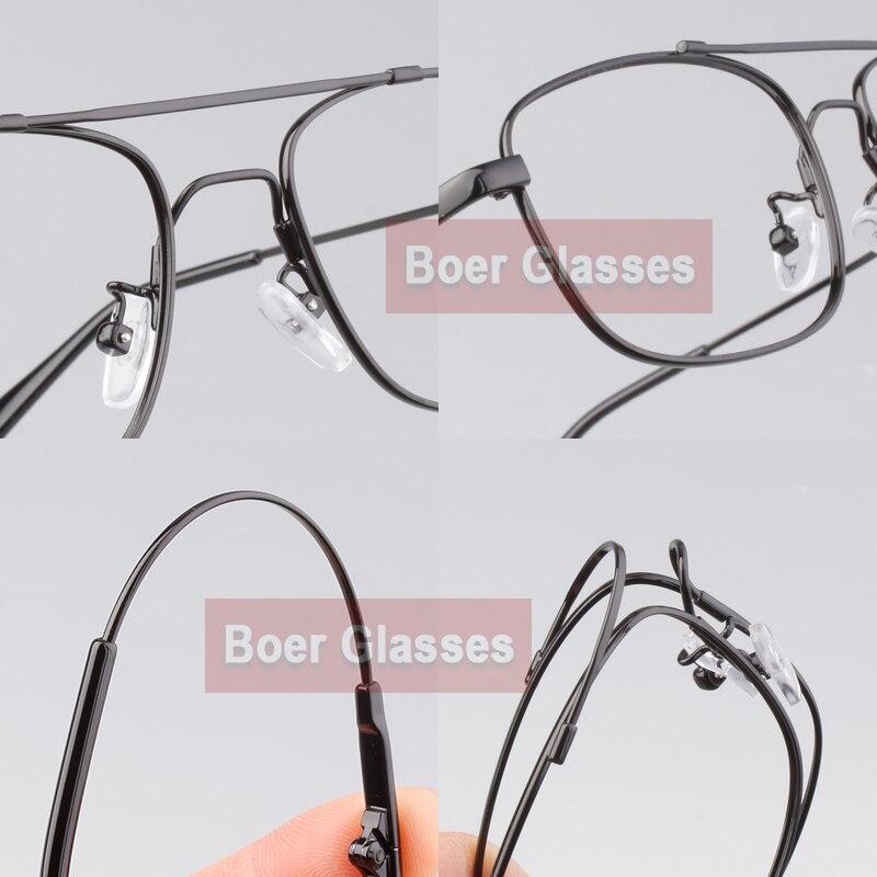 Pria kacamata rim penuh, Bingkai kacamata bingkai, Rx kacamata, - Aksesori pakaian - Foto 6