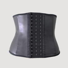 modeling strap short torso Latex waist trainer body shapewear Belt women Slimming Underwear XXS sheath slimming