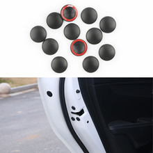 Universal 12pcs Car Door Lock Screw Protector Cover For Renault Koleos Clio Scenic Megane Duster Sandero Captur Twingo buildreamen2 full car cover waterproof sun shade snow rain hail scratch resistant cotton cover for renault captur koleos sandero