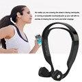 2016 más nuevos de Conducción Ósea Bluetooth 4.0 Wireless Stereo Headset Deportes Auriculares venta caliente
