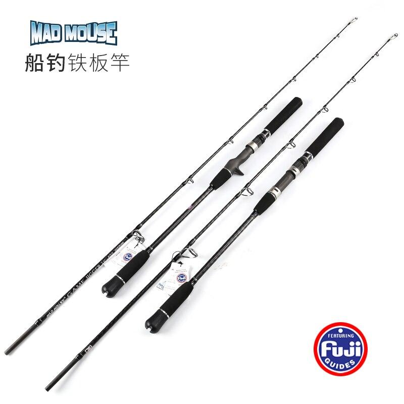 NEWJapan Full Fuji Parts MADMOUSE Jigging Rod 1 8M PE 2 4 Lure Weight 60 200G