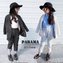 2pcs Kids Suits Kids Blazers Girls Set Clothes 2019 Girls Ou