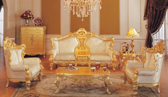 2015 europäischen luxus möbel, Massivholz hand geschnitzten ...