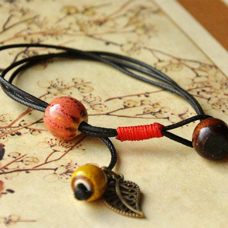 Ceramic Beads Bracelet Men...