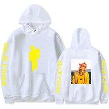 2019 New Billie Eilish Hoodie Men Black Cotton Couple Sweatshirt Simple Keep Warm Women/men Clothes