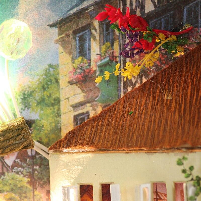 Significado de Travel Doll House Diy Miniatura 3D Puzzle de madera - Muñecas y peluches - foto 5