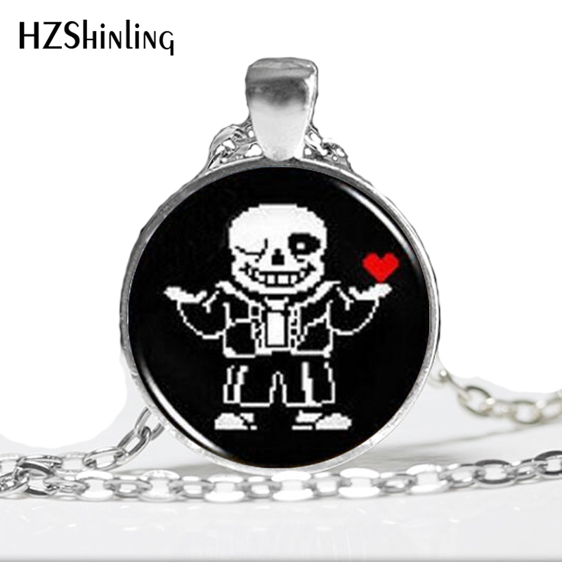 Jewelry & Accessories Necklaces & Pendants Just Undertale Sans 2 Game Gaming Man Handmade Fashion Necklace Brass Silver Pendant Steampunk Jewelry Gift Women New Chain Toy Mens