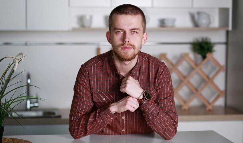BOBO BIRD Luxury Design Auto Date Handmade Wooden Watch for Men 7