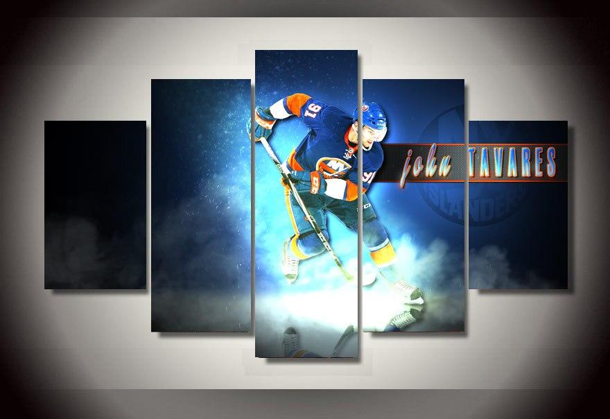 Achetez en gros hockey peintures en ligne des grossistes for Decoration chambre hockey canadien