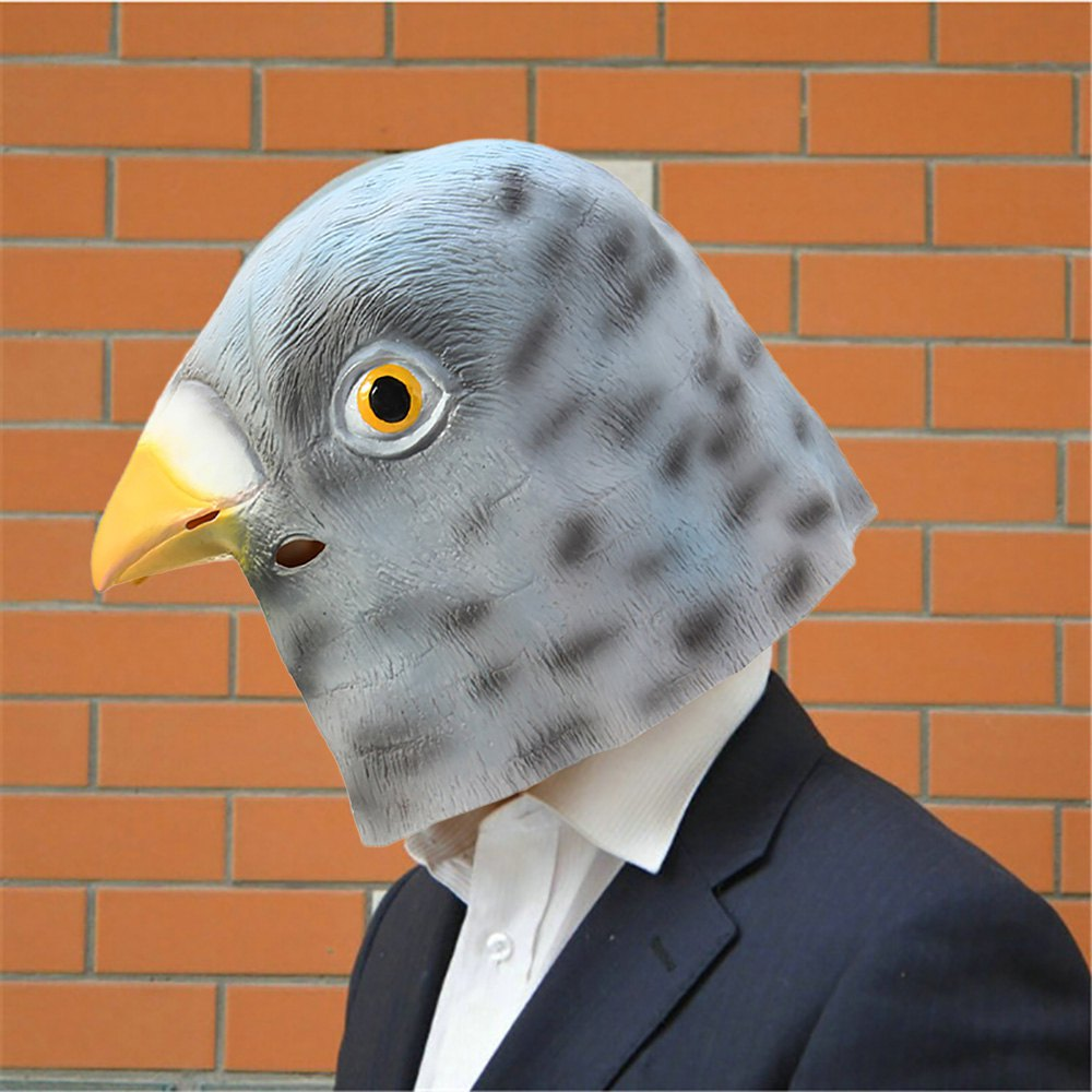 Aliexpress.com : Buy Bird Mask Full Face Cool Silicone Punk Adults ...