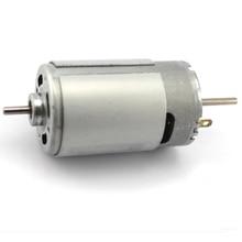 Biaxial 550 motor/12v miniature DC motor model /  high-speed 3.175mm motor / DIY electric drill motor цена