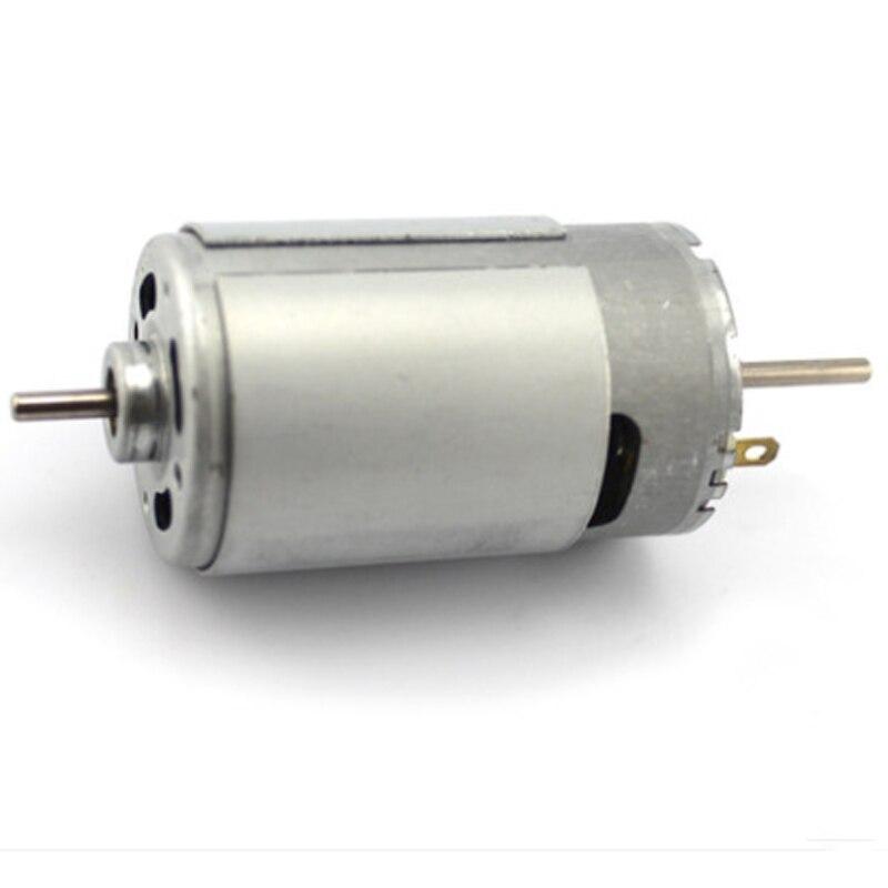 Biaxial 550 motor/12v miniature DC motor model / high-speed 3.175mm motor / DIY electric drill motor