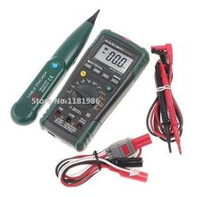 MASTECH MS8236 Auto Range Digital Multimeter LAN Tester Net Cable Tracker Tone Telephone line Check Non-contact Voltage Detect