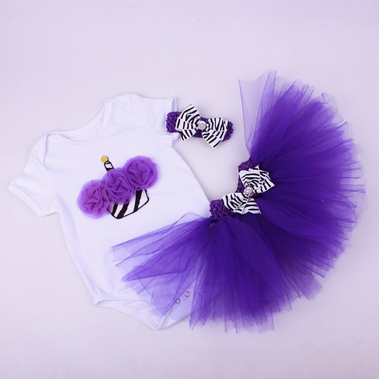 Newborn Girls Summer Baby Clothing Sets (5)