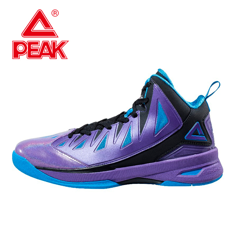 PEAK FIBA Speed Eagle II Men Basketball Shoes Basketball Ankle Boots Men Sneakers Athletic Shoes Boots High Top Cushioning peak sport lightning ii men authent basketball shoes competitions athletic boots foothold cushion 3 tech sneakers eur 40 50