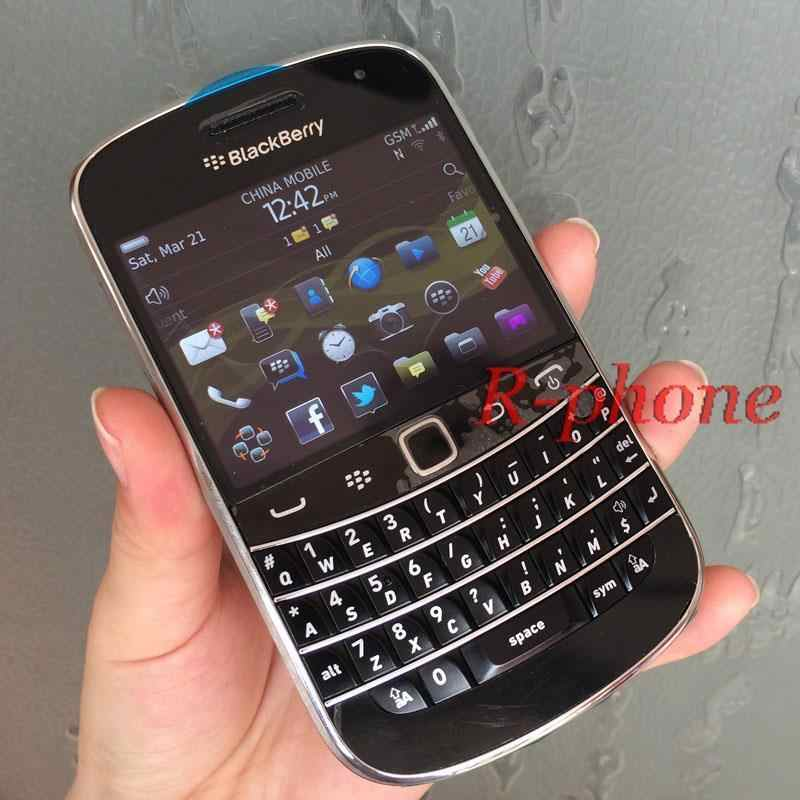 Original BlackBerry Bold Touch 9900 Unlocked Mobile Phone BlackBerry 9900 5MP 3G WIFI Bluetooth Refurbished Smartphone