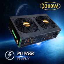 3300W Mining Machine Power Support 12 High end Graphics Cards ETH BTC Cion Miner Mining Power