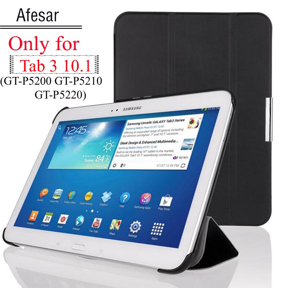 SPEDIZIONE GRATUITA Custodia ultrathinsmart per Samsung GALAXY Tab 3 10.1 tablet gt-p5200 gt-p5210 Custodia tablet cover cover auto sleep