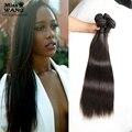 Pretty Brazilian Straight Hair Weave Bundles Top 10A Queen Hair Products 4PCS/lot Brazilian Human Virgin Straight Hair Extension
