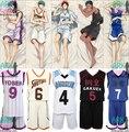 Kuroko нет корзины кисе Ryota / Midorima синтаро / Aomine Daiki / Murasakibara ацуши / акаси Seijuro баскетбол джерси косплей костюм