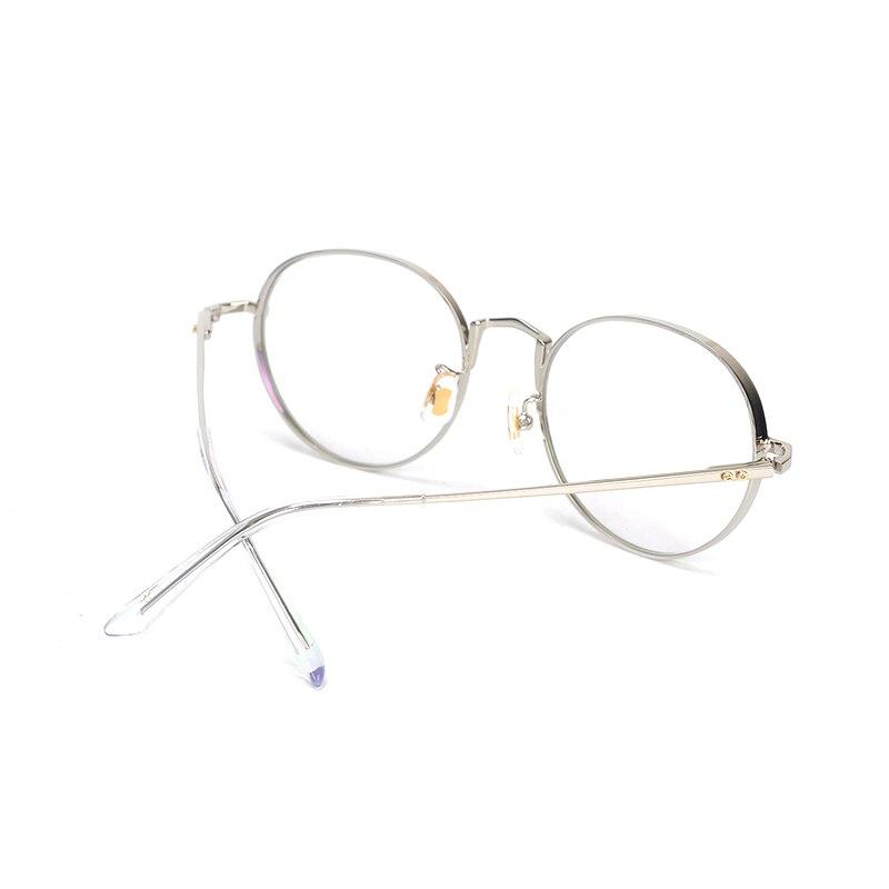 Image 2 - Pure Titanium Glasses Frame Men Round Prescription Eyeglasses Eyewear Vintage Retro Myopia Optical Eye Glasses Women Spectacles-in Men's Eyewear Frames from Apparel Accessories