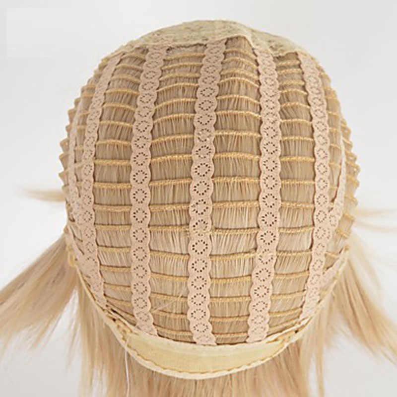 Hairjoy Vrouwen Korte Rechte Synthetische Pruik Blond Bruin Gemengde Pruiken Gratis Verzending 4 Kleuren Beschikbaar