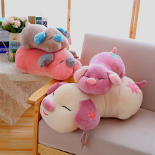 Cushion DIY Funny Smiley Pig Children Toys Decorations For Home