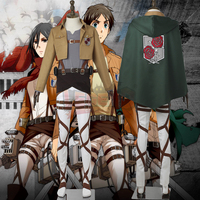 jacket Attack On Titan Stationed Corps cosplay adult costume Custom Made full set shingeki no kyojin cosplay