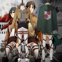 jacket Attack On Titan Stationed Corps cosplay adult costume Custom Made full set shingeki no kyojin cosplay