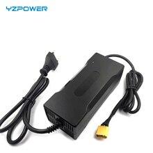 Зарядное устройство YZPOWER для литиевых аккумуляторов 42 в 2,5 А 36 в 2,5 А, стандартная батарея для литиевых аккумуляторов или другого типа аккумулятора