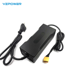 Yzpower 42v 2.5Aリチウム電池の充電器36v 2.5Aリチウムバッテリー標準バッテリーまたは他の電池タイプ機