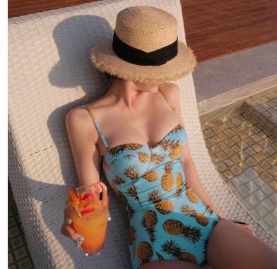 2018 139 23 hot black colorful bikini bandeau summer newest color handmade crochet bow halter swimwear women Floral swimsuit
