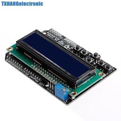 LCD Keypad Shield LCD1602 For Arduino ATMEGA328 ATMEGA2560 UNO blue screen LCD 1602 Module Display