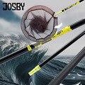 JOSBY Удочка 2 1 м-3 м  сверхлегкая Выдвижная телескопическая подсадочная ручная удочка  карбоновая Складная рыболовная сеть  Снасть