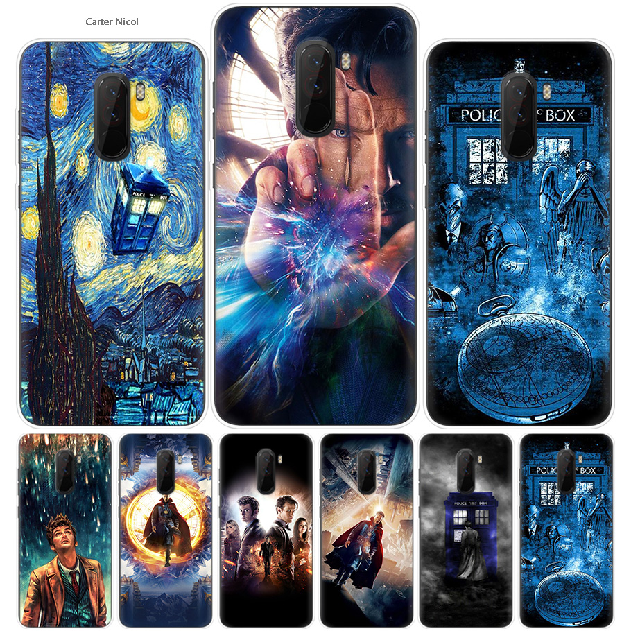Qualified Tardis Box Doctor Who Dw Silicone Phone Cases Cover Ultra Thin Pattern Shell For Pocophone Xiaomi Redmi Poco F1 6.18 Inch Fitted Cases Cellphones & Telecommunications