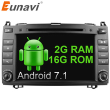 Eunavi 2 Din 8 Inch Android 7.1 Car DVD Player car radio stereo for Mercedes/Benz/Sprinter/W209/W169Viano/Vito/B200/A160 Wifi