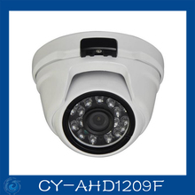 AHD camera 2.0MP metal dome cameras 24pcs leds camera waterproof night vision IR cut filter 1/3 serveillance home.CY-AHD1209F